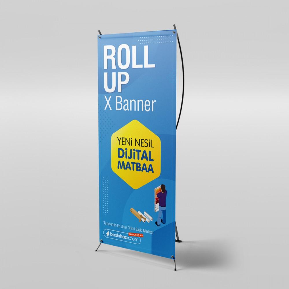 X Banner ( Çantalı )