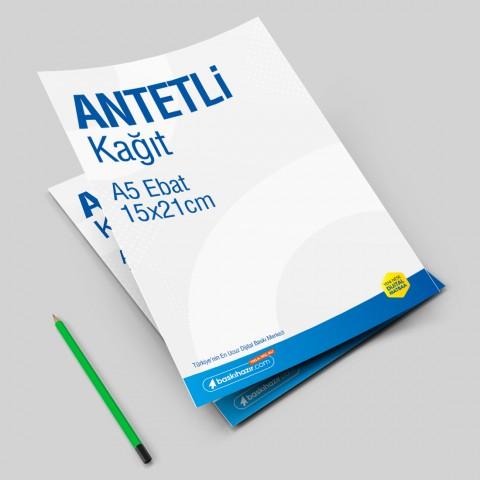 A5 Antetli Kağıt 80 gr