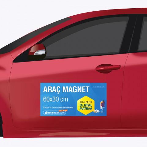 Araç Magnet 60x30 cm ( 2 Adet )