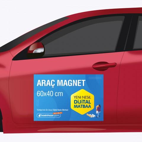 Araç Magnet 60x40 cm ( 2 Adet )