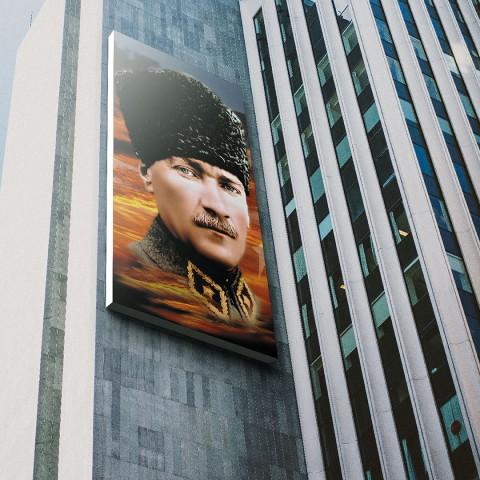 Atatürk Posteri 100x150 cm