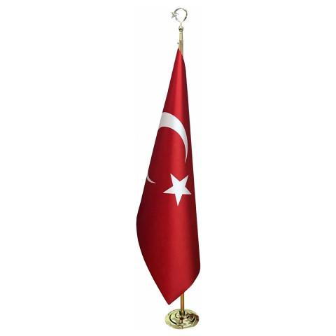 Makam Bayrağı Saçaksız Takım Gold
